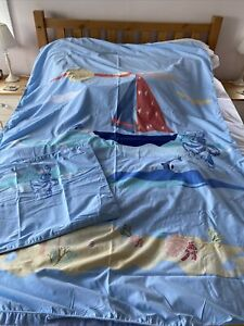 Laura Ashley Boys Nautical Duvet Cover . Single Set