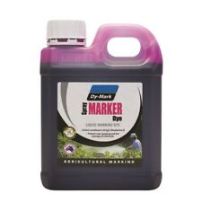 DYMARK Spray Dye for Herbicide Chemical Crop Plant 1L Marking Overspray Farming