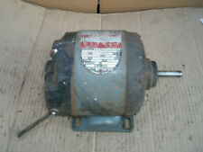 Vintage Rockwell Capacitor Start electric Motor 1/3 Hp 115V 1725 Rpm
