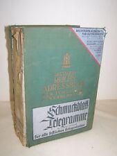 Deutsches Reich Adressbuch für Industrie Gewerbe und Handel mit Branchen, Orte