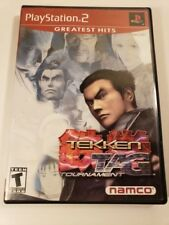 Tekken Tag TOURNAMENT Sony PlayStation 2 Game Greatest Hits W/Manual & Case
