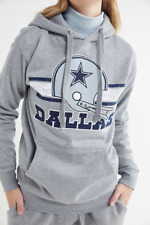 NEW MITCHELL & NESS WOMEN'S DALLAS COWBOYS HOODIE HOODED SWEATSHIRT SMALL