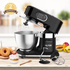 1000W Electric Food Stand Mixer 5.5L Edelstahl Bowl Dough Hook Küchemaschine NEU