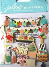 JOLEE'S BOUTIQUE MOD HAPPY BIRTHDAY Scrapbook Craft Stickers Embellishment