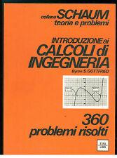 GOTTFRIED BYRON S. INTRODUZIONE AI CALCOLI DI INGEGNERIA ETAS LIBRI 1983 SCHAUM
