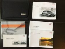 2009 Audi A4 Owners Manual With Case OEM Free Shipping