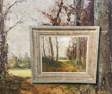 Marvellous Plain Air Impressionist from France antique oil painting, Signed