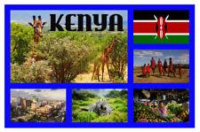 Kenya,Africa - Negozio di souvenir novità Magnete del frigorifero - REGALI /