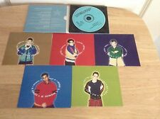 Backstreet Boys Limited Edition Cd With 5 Cards Get Down Your The One For Me