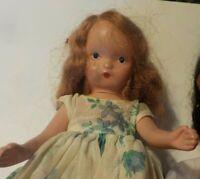 Vintage Nancy Ann Storybook Dolls Topsy Bisque