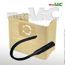 10xStaubsaugerbeutel+Flexdüse geeignet Nilfisk Alto Push & Clean Attix 30-11 PC