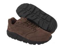 Brooks Addiction Walker Brown Leather Casual Walking Shoes Sneaker Width D/2E/4E