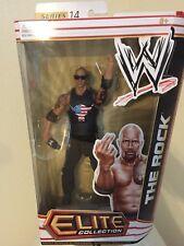 WWE Mattel Wrestling Action Figure Elite Series 14 The Rock Dwayne Johnson