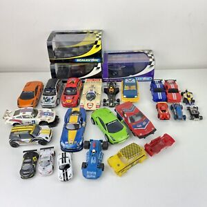 JOB LOT OF SCALEXTRIC CARS & OTHERS AFX SPARES OR REPAIRS BUNDLE