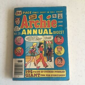 Archie Annual Digest No.29 1976-77 Edition