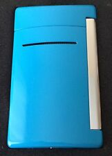 S.T. Dupont MiniJet Torch Flame Lighter, Blue, 10031 (010031) New In Box