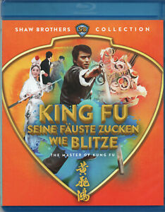 THE MASTER OF KUNG FU - Blu Ray Disc - Shaw Brothers -