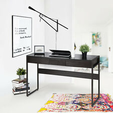 Shaker Style Hallway Console Table / Laptop Modern Office Writing Desk Black