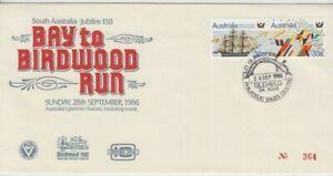 Bay to Birdwood Run South Australia 1986 souvenir cover old gum tree postmark
