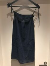 Fenchurch Navy Blue Sun Dress Cover Up Beach Size Small