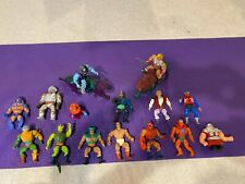 Lot of  15 Vintage Masters of the Universe MOTU Action Figures He-Man