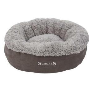 Pet Dog Cat Warm Washable donut bed Cat/Kitten Bed Fleece/Plush/Soft/ Scruffs