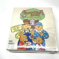 Vintage Berenstain Bears Story Cards 1992 Series Factory Sealed Box, 54 Packages