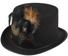 Ladies Mens Steampunk Hat Victorian Inventor Carnival Fancy Dress Accessory