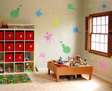 Paint Splatter Large Wall Decal Vinyl Sticker Art Decor Decoration Mural G30