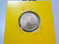 A: Malaysia 10 Sen coin (1978) - Lustre BU