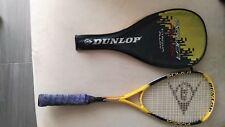Raqueta Squash Dunlop Titanium Alloy y Head Mg Carbon 200