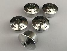 DUCATI Monster 1000/S4/S4R/S4RS Tappi Telaio Kit 5 alluminio lucido