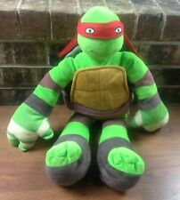 "Teenage Mutant Ninja Turtles Pillowtime Pal 24"" Stuffed Plush Red Mask Rafael"