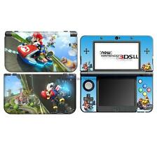 super Mario M racing DECAL Skin Sticker case Cover for Nintendo NEW 3DS XL LL 18