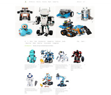 Electronic Toys Dropshipping / eCommerce / Affiliate Mobile Responsive Website