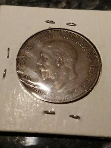GB GEORGE V BRONZE PENNY 1928 ++ SHARP GRADE!!