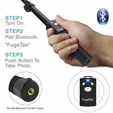 NEW Factory Replacement Bluetooth Remote Shutter For Fugetek FT-568 Selfie Stick