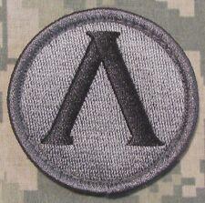 LAMBDA SPARTAN SHIELD USA ARMY MORALE ACU DARK VELCRO® BRAND FASTENER PATCH