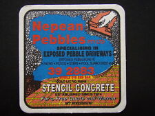 NEPEAN PEBBLES EXPOSED DRIVEWAYS STENCIL CONCRETE MT RIVERVIEW 392883 COASTER