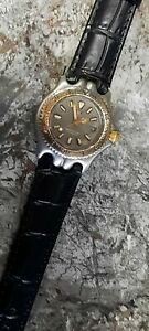 RARE TAG HEUER SEL STAINLESS STEEL & 18CT GOLD PLATED WATCH, STUNNING