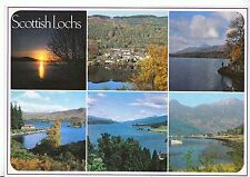 Scotland Postcard - Views of Scottish Lochs    AB2386