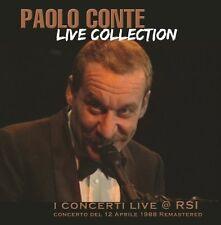 Paolo CONTE-LIVE COLLECTION-RSI 12.04.1988 CD NUOVO
