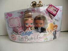 BRIDE & GROOM- Bratz Baybyz -with Real Diamond Ring 2006 NIB -Wedding Shower