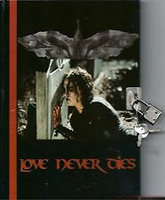 The Crow Brandon Lee Eric Draven Journal Diary Locking Lock Love Never Dies NEW