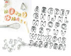 Set 9/26/37pcs Alphabet/Number Cake Biscuit Fondant Decoration Cutter Icing Tool
