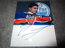 NAIL YAKUPOV Edmonton Oilers Signed Autographed 8x10 photo 2012 NHL Draft