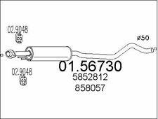 parti aggiuntive MTS Silenziatore NUOVO OPEL ASTRA G Coupe Cabrio 1.8 16v SCARICO