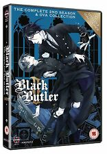 BLACK BUTLER Complete Series 2 Collection SEALED/NEW dvds 2nd second season two