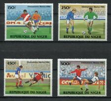 S6102) Niger 1984 MNH Wc Football' 86- cm Football 4v