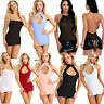 Women's Halter Bodycon Evening Party Cocktail Short Mini Pencil Dress Clubwear